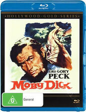 Moby Dick NEW Classic Blu-Ray Disc John Huston Gregory Peck Leo Genn R. Basehart