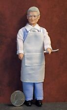 Dollhouse Miniature Doll Man Shopkeeper 1:12 One inch scale E40 Dollys Gallery