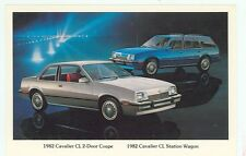 1982 Chevrolet Cavalier CL   (NEW post card (autoB#339