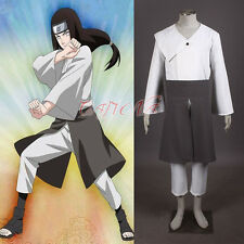 Cafiona Cheap Naruto Hyuga Neji Cosplay Costume Halloween Anime Outfit Any Size