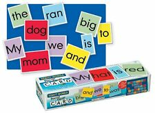 NEW Pocket Chart Sight Word Cards Classroom School Wall Learn Teach Games Spell