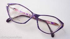 Marc Oliver ausgefallene Markenbrille  Butterflyform Damenfassung lila occhiali