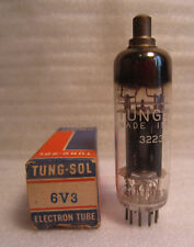 Tung-Sol 6V3 6V3A Electronic Radio Vacuum Tube In Box NOS