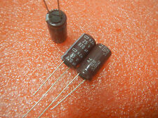 10,NIPPON 25V 820UF Electrolytic Capacitors 10X20mm
