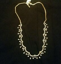 Fine costum jewlery Gold  over sterling silver  necklace
