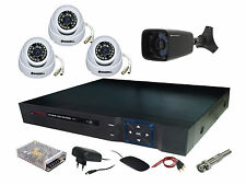 3 IN + 1 OUT DOOR NIGHT VISION SECURITY CCTV CAMERA + 4 CH DVR + COMBO OFFER