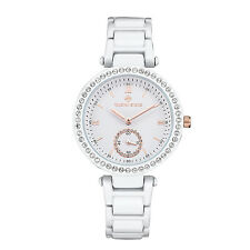 Timothy Stone White ELLE CERAMIC Womens Fashion Watch
