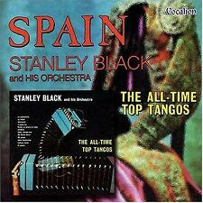 Stanley Black SPAIN & THE ALL-TIME TOP TANGOS - CDLK4231
