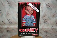 "TALKING CHUCKY DOLL FIGURE BRIDE OF CHUCKY NEW! MEGA SCALE 15"" TALL MEZCO 2015"