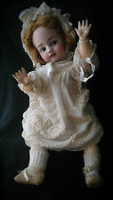 Antica bambola Antique bisquit doll character Germany Halbig S & H 1039