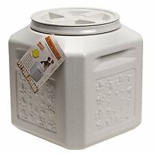 Dog Food Storage Vault Container Pet Cat Airtight Bin Fresh Vittles 25 lb Box