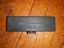 Jeep TJ Wrangler  4 or 6 Cyl  Engine Fuse Box Cover   1997-2001    P/N 56038363