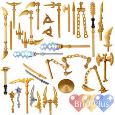 LEGO Ninjago Set/26 Golden Weapons - Spinjitzu weapons Shuriken Dragon Sword