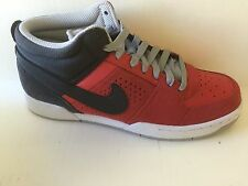 NEW NIKE RENZO 2 MID SHOES MENS 9 Red/ Grey 525617 $75.MSRP