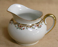 Antique Vignaud Limoges The Meuse c1920's Creamer Yellow/Red/Gold