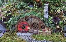 FIDDLEHEAD Fairy Garden Red Root Burrow House Miniature Fantasy Home Opening Doo