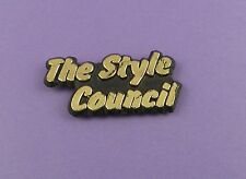 The Style Council - Original 1980s Plastic Pin Badge