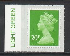 U2924 20p Security Machin 2016 M16L Colour Tab  - Unmounted Mint