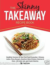 Skinny Takeaway Recipe Diet Cook Book Healthy Eating Weight Loss Nutrition Lean