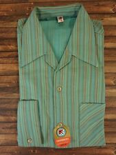 Shirt men's TRUE VINTAGE 1950s 50s 1960s 60s DEADSTOCK unworn Size M  (HV2401)