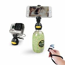 iStabilizerQ3 Portable Selfie Bottle Head With Bluetooth Control Universal Phone