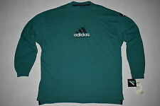 ADIDAS Equipment Pullover Sweater EQT Crew JERSEY Jumper 90s 90er Vintage M Nuovo