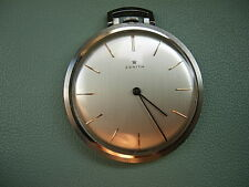 Vecchio orologio ZENITH da Tasca in acciaio