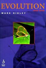 Evolution by Mark Ridley 2nd Edition INCLUDES CD