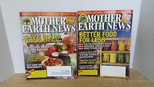 Mother Earth News magazines Eating Local, Gardening, Sustainable Green Living 1a