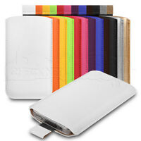 Coloured PU Leather Pouch Case Cover Sleeve Skin Fits Sony Xperia Z1 Compact