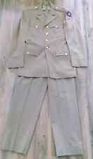 Giacca e pantaloni uniforme seconda guerra mondiale US 3rd Army Ufficiale WW2