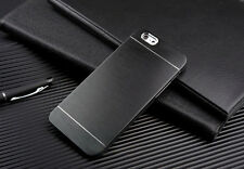 Luxury Ultra Slim Metal Aluminum Brushed Hard Shockproof Back Phone Case Cover