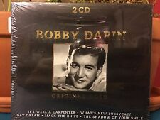 BOBBY DARIN ORIGINAL GOLD 2 CD 40 SONGS BRAND NEW AND SEALED FAST SHIPPING
