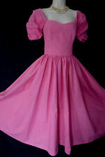 VINTAGE LAURA ASHLEY PINK BALLERINA PRINCESS SPECIAL PARTY DRESS 10 (LABEL 14)