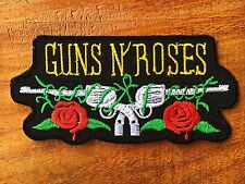 """GUNS N' ROSES """" Rock Band Iron On Sew Applique Embroidered Patch"""