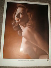 Printed art glamour nude photo of a woman by PMU 1949 ref K2