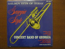 rare Concert Band of Georgia SEALED LP 1960s Golden Hits of today Georgia style
