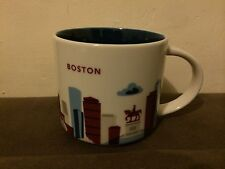 "Starbucks ""YOU ARE HERE"" YAH Collector Series, Boston City 14oz Mug - NWT - NIB"
