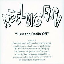 Turn The Radio Off - Reel Big Fish (2001, CD NEU) CD-R/Clean Version