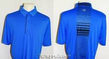 New Men's Cutter & Buck DryTec Royal Blue SS Polo Shirt w/Contrast Back Panel L