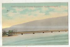 Clark's Ferry Covered Bridge Susquehanna River DUNCANNON PA Perry County PC