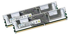 2x 2GB 4GB RAM Fujitsu Primergy TX200 S4 D2509 - 667 Mhz DDR2 Fully Buffered