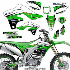 1996 1997 1998 KX 125 250 GRAPHICS KIT KAWASAKI KX125 KX250 DECO DECALS STICKERS