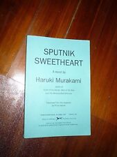 Sputnik Sweetheart Haruki Murakami ARC/Proof/Galley