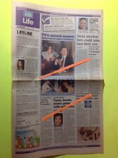 Twin Peaks KYLE MACLACHLAN Sherilyn Fenn March 7, 1990 USA TODAY Life Section