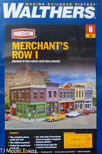 Walthers N #933-3850 Merchant's Row I (Plastic Building kit) N Scale