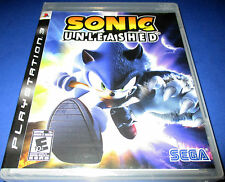 Sonic Unleashed Sony PlayStation 3 - PS3 - *Factory Sealed! *Free Shipping!