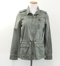 Levi's Military / Safari Style Jacket Lightweight Drawstring Waist Women's M