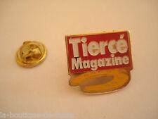 PINS RARE TIERCE MAGAZINE REVUE PRESSE SPORT COURSE CHEVAUX
