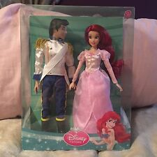 Disney Princess Ariel Mermaid Eric Wedding Set Little Muñecas Raro And Nuevo En Caja